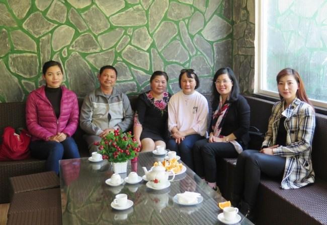 Trường Xuân Resort – Ha (Cong Doan), Hai, Ha (Truong Xuan), Mai, Huong, Thao