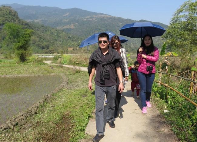 Bản làng Tiến Thắng – Tien, Thao, Ha