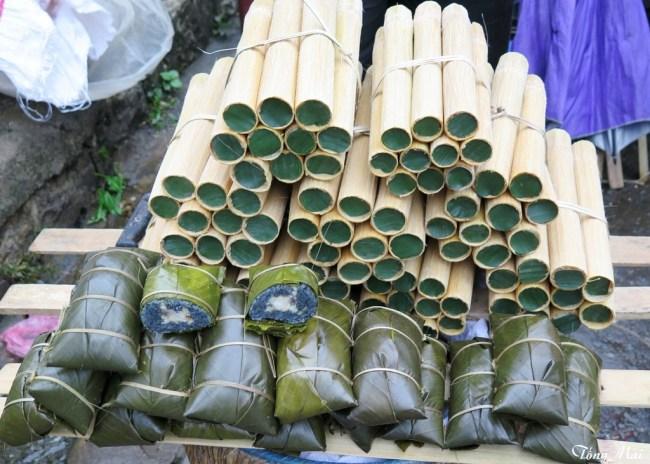 Xôi lam. Photo: TốngMai