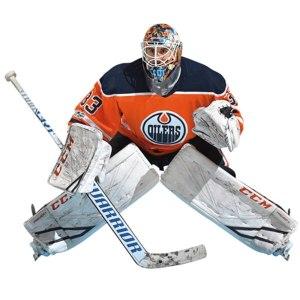 Edmonton Oilers Cam Talbot Fathead Life Size Remov cheap custom jerseys