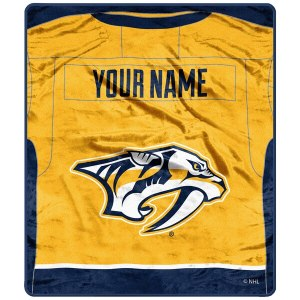 Nashville Predators The Northwest Company 50'' x 6 cheap custom jerseys