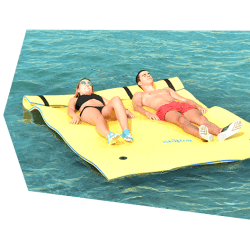 matelas flottant skiflott taille m 2 3 places