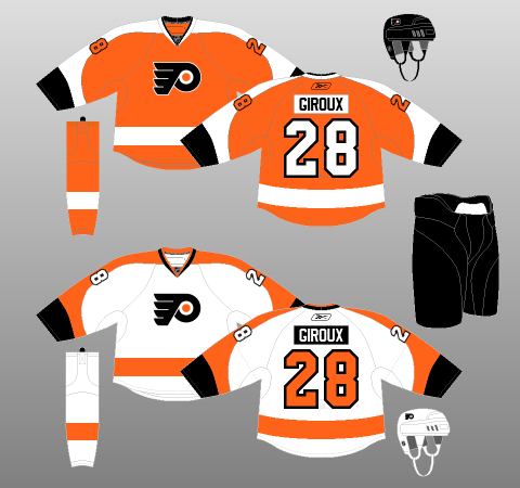 outlet store 734bb 42675 Flyers In Need of a New Black Alternate Jersey? | The Orange ...