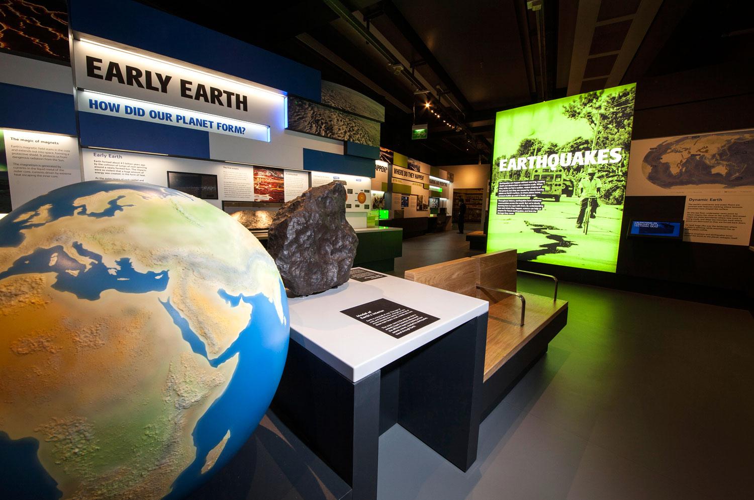Natureplus What S New At The Museum Volcanoes And