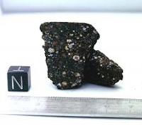 Research on the Grave Nunataks 95229 meteorite produced unexpected amounts of ammonia, containing nitrogen, a building block of life © NASA