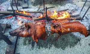 A Smokin' BBQ in Italy