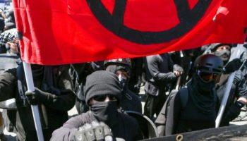 Antifa protest 550x330