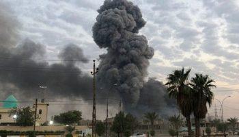 Israel blamed airstrikes