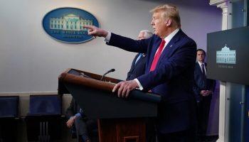 trump briefing