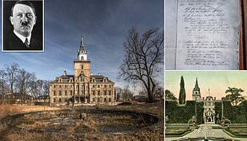 Nazi diary reveals secret location of WWII treasure worth billions, report says