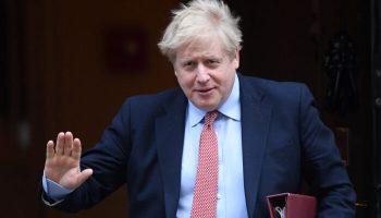 British PM Johnson Tells China: We'll Not Walk Away From Hong Kong People