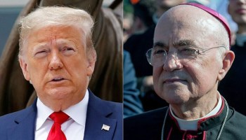 Rome archbishop urges Trump to fight 'deep state' amid criticism over protests, coronavirus