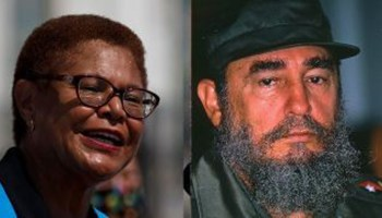 Biden VP hopeful Karen Bass slammed over past praise for Fidel Castro