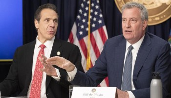 Cuomo, de Blasio wrong to limit worship services, condone mass protests: federal judge