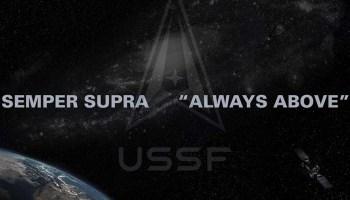 Space Force unveils delta logo and 'semper supra' motto