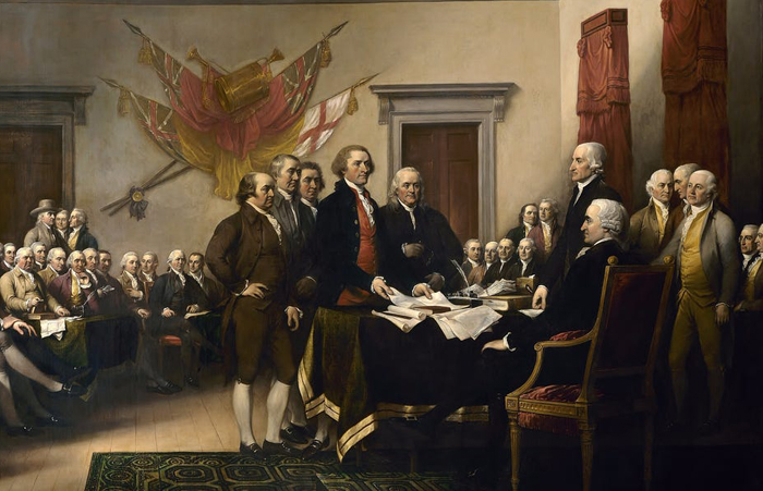 WE hold these Truths to be self-evident, that all Men are created equal, that they are endowed by their Creator with certain unalienable Rights, that among these are Life, Liberty, and the Pursuit of Happiness
