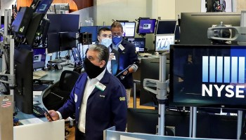 S&P 500 gains on COVID-19 vaccine, stimulus hopes