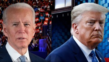 Trump knocks Biden for not answering reporters' questions: 'He can't come out of his basement'