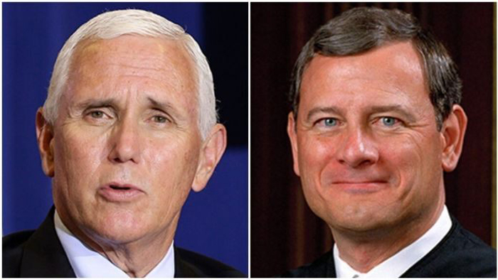 Pence rips Chief Justice Roberts in interview, calls him 'disappointment to conservatives'