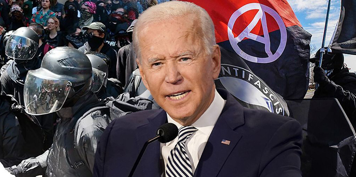 Biden says Antifa is an 'idea,' days after WH moved to label it a terror group