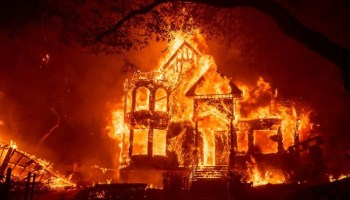 California wildfires rage as wine country blaze forces evacuation of hospital, hundreds of homes