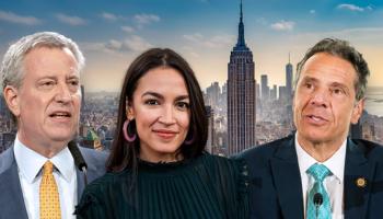 AOC calls on Cuomo, de Blasio to raise NY taxes: report