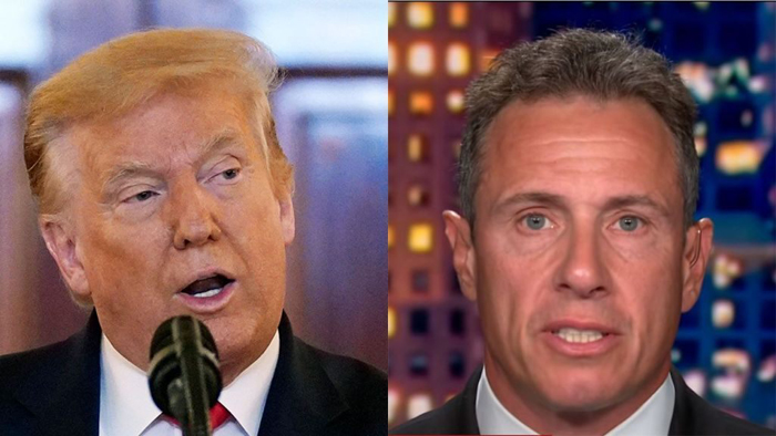 Trump calls on CNN to fire Chris Cuomo over leaked audio: 'Fredo must go!'