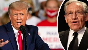 Trump challenges Woodward for sitting on coronavirus quotes