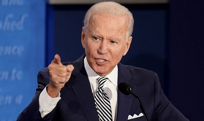 Biden refuses again to state court packing position, mangles Constitution's rules for Supreme Court