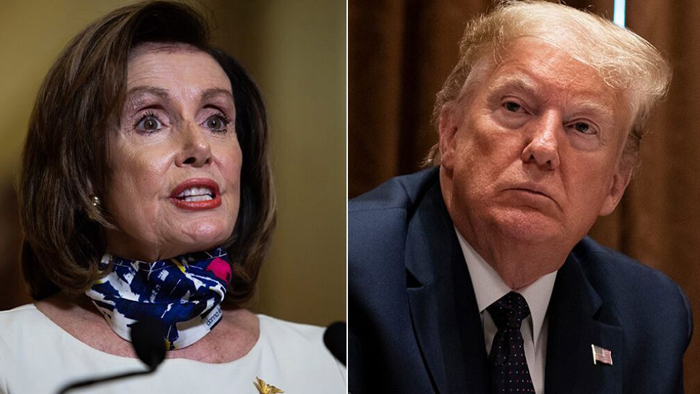 Trump taunts Pelosi over new stimulus checks, one day after halting relief talks