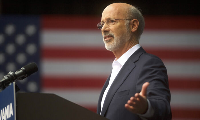 Pennsylvania's Democrat Governor Criticizes State GOP Demand for Immediate Election Audit