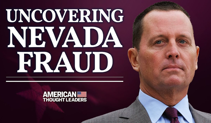 Richard Grenell on Election Fraud, Nevada Voting Machines, and Trump's 'America First' Diplomatic Success