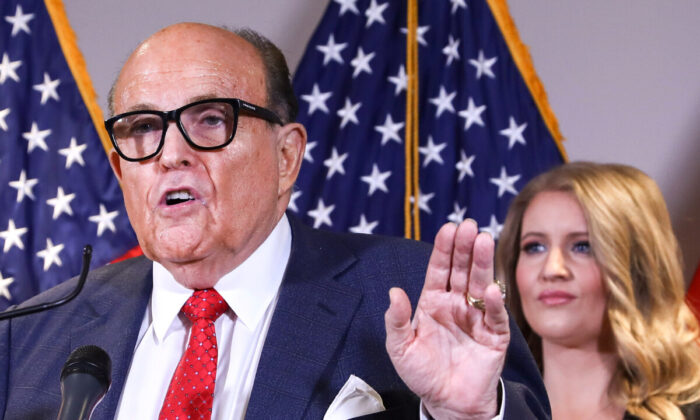 Rudy Giuliani: 3 State Legislatures May Change Electoral College Voters