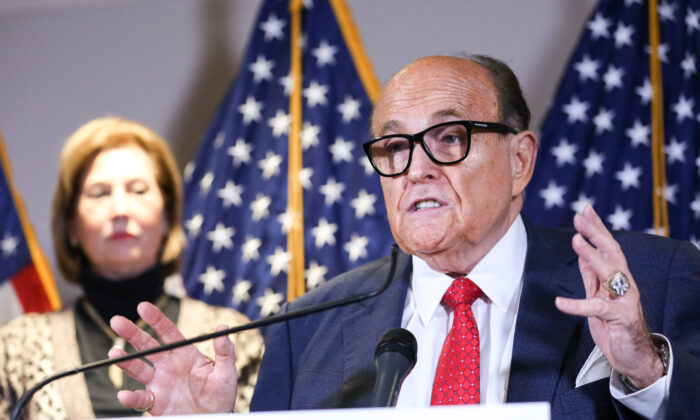 Rudy Giuliani: Georgia House Needs 'Courage to React' to Election Fraud