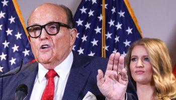 Rudy Giuliani: Let Team Examine Voting Machines to Prove Trump Won