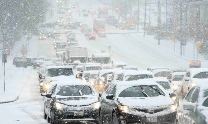 Winter Storm Wallops US Northeast