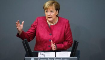 Germany's Merkel Considers Twitter Ban of Trump 'Problematic'