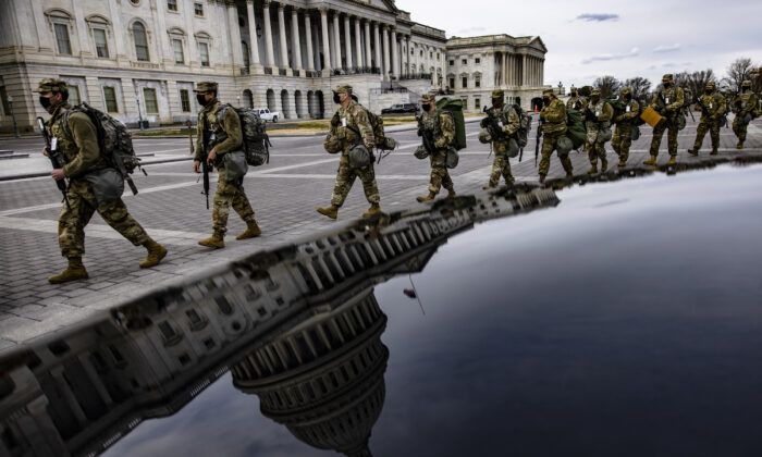 More National Guard Troops Get Called Back to Their States