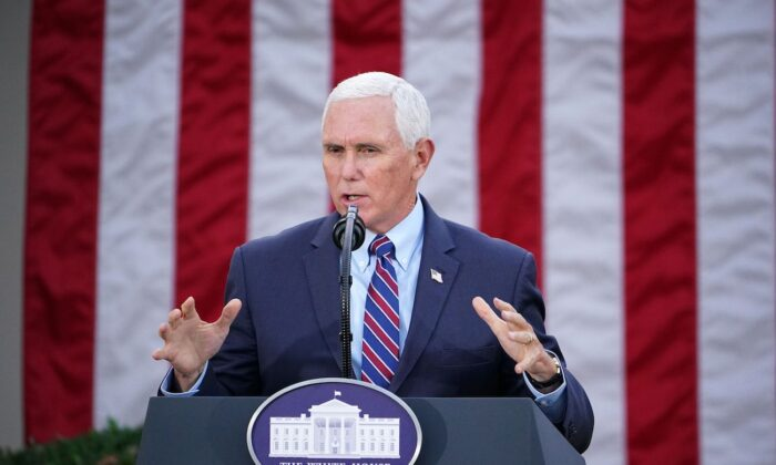 Pence Welcomes Efforts by Lawmakers to Object to Electoral College Votes on Jan. 6