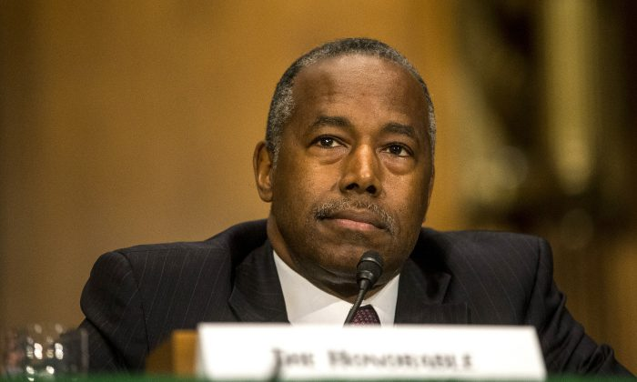 Secretary Carson: Haven't Talked About Using 25th Amendment