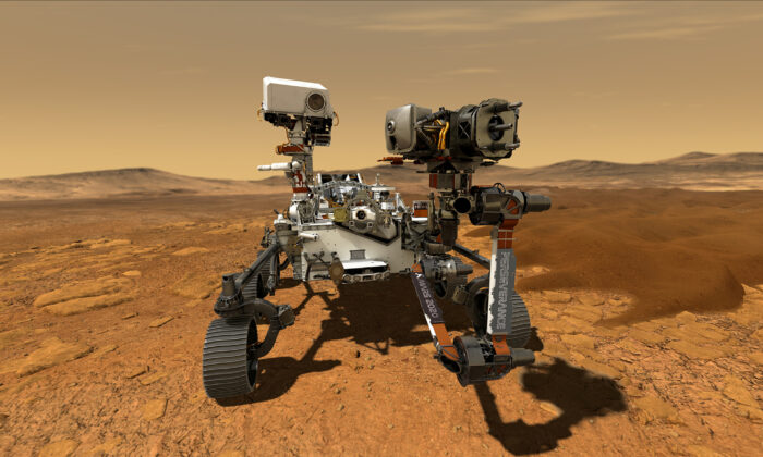 NASA's Astrobiology Rover Perseverance Makes Historic Mars Landing