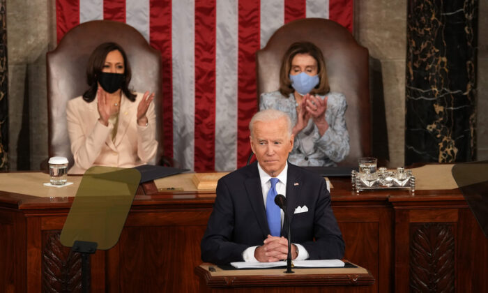 Biden Draws Ire of Republicans, Pushback From Democrats for $6 Trillion Spending Spree