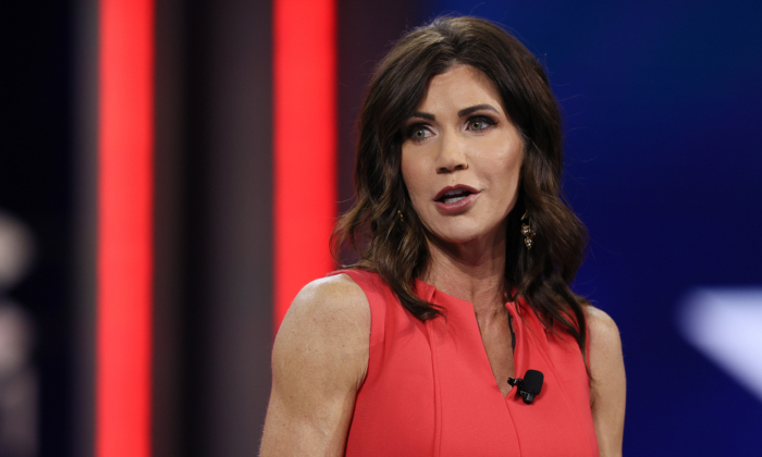 South Dakota Gov. Kristi Noem Sues Biden Admin Over Independence Day Fireworks Cancellation