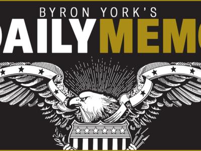 Byron York's Daily Memo: DOJ memory holes Andrew McCabe wrongdoing