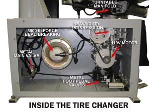 Inside the Phoenix Tire Changer | NHProEquip