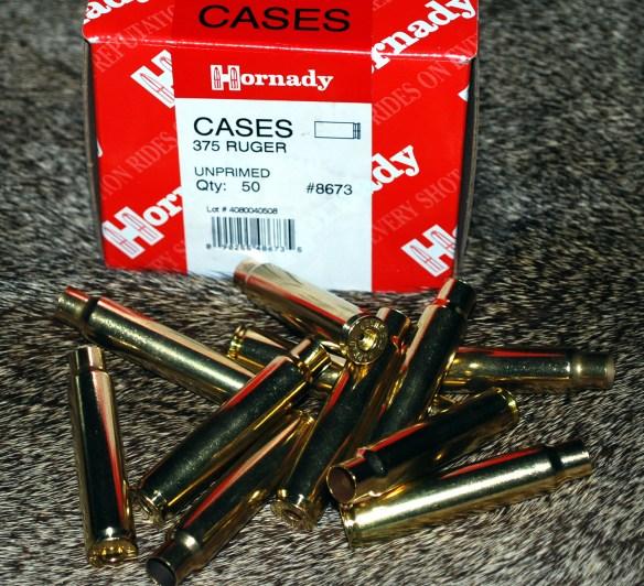 375 ruger unprimed new cases