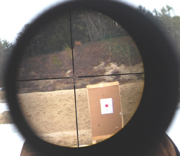 Nikon Coyote Special 3-9 x40mm Reticle view