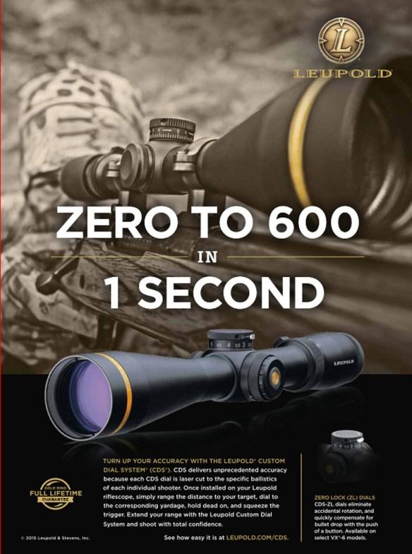 a zero to 600 ad