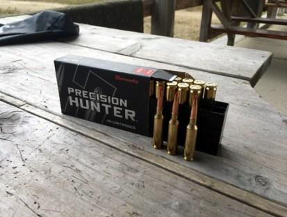 hornady ammo Precision Hunter