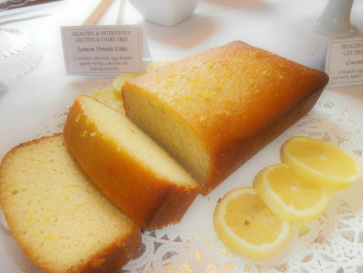 Gluten And Dairy Free Lemon Drizzle Cake